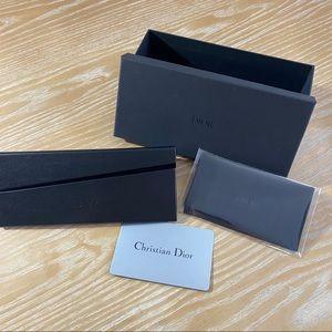 Dior glasses/sunglasses case